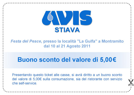 Ticket sconto